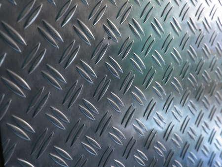 Diamond steel metal sheet useful as background Stock Photo - 7221446