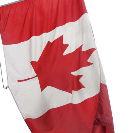 ca: The national Canadian flag of Canada (CA)