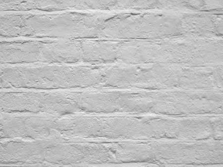 White brick wall useful as a background photo