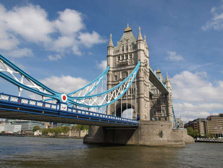 Tower Bridge on River Thames, London, UK Stock Photo - 7253874