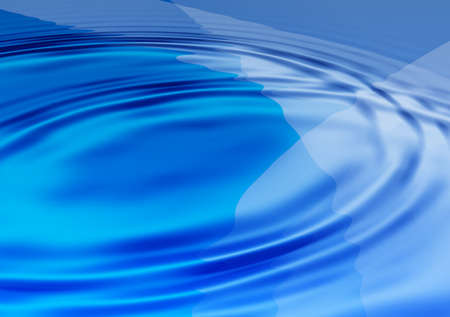 hintergrund: Blue water waves illustration useful as a background