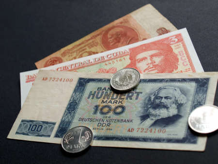 ddr: Money from the   countries: CCCP SSSR DDR Cuba