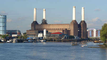 Battersea Power Station in London, England, UK Stock Photo - 7463150