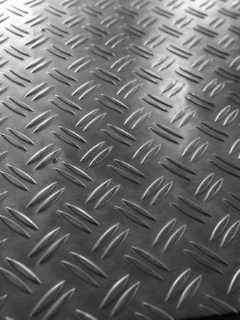 Diamond steel metal sheet useful as background Stock Photo - 7463199