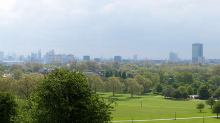 London panorama skyline seen from Primrose hill (high res 9600 pixels wide image) Stock Photo - 7463171