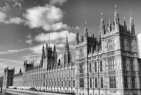 Houses of Parliament, Westminster Palace, London gothic architecture - hdr photo