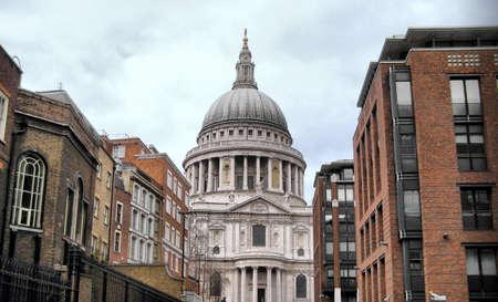 St Paul Cathedral in London, United Kingdom (UK) - high dynamic range HDR photo