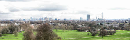 Primrose Hill park in London, England, UK - high dynamic range HDR photo