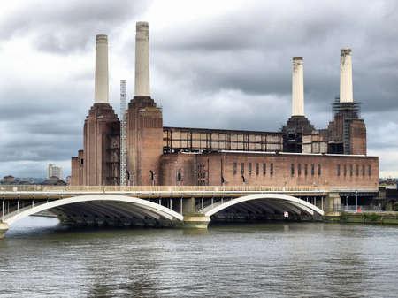 Battersea Power Station in London, England, UK - high dynamic range HDR photo