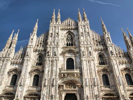 Duomo di Milano, Milan gothic cathedral church - high dynamic range HDR photo