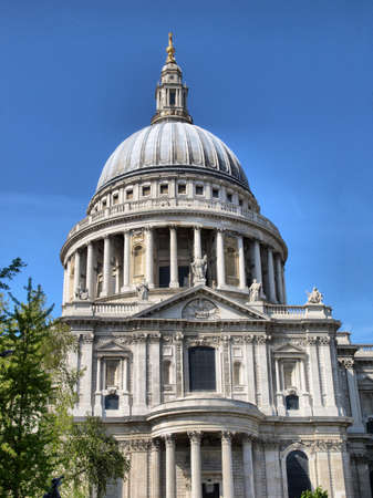 st pauls cathedral: St Pauls Cathedral in London, United Kingdom (UK) - high dynamic range HDR