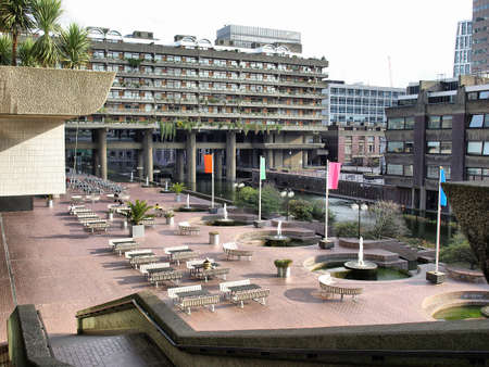 The Barbican Centre in London, England, UK - high dynamic range HDR Stock Photo - 7558313