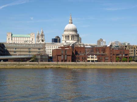 St Pauls Cathedral in London, United Kingdom (UK) - high dynamic range HDR photo