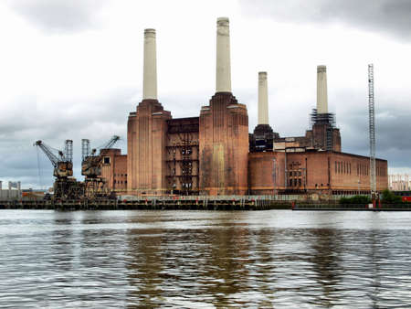 Battersea Power Station in London, England, UK Stock Photo - 7558212