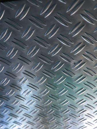 Diamond steel metal sheet useful as background Stock Photo - 7601266