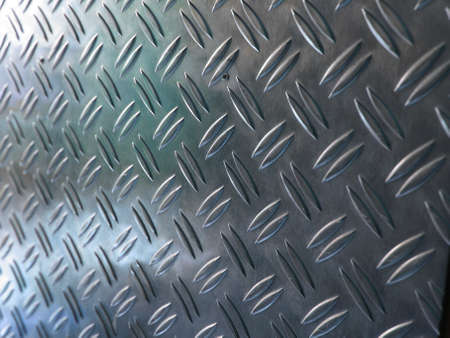 Diamond steel metal sheet useful as background Stock Photo - 7628421