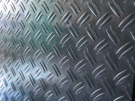 Diamond steel metal sheet useful as background Stock Photo - 7628421