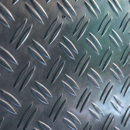 Diamond steel metal sheet useful as background Stock Photo - 7628325