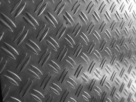 Diamond steel metal sheet useful as background Stock Photo - 7628399