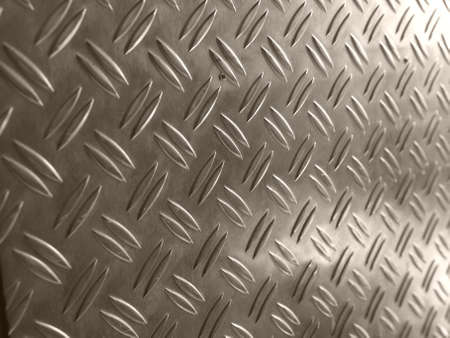 Diamond steel metal sheet useful as background Stock Photo - 7628530