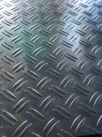 Diamond steel metal sheet useful as background Stock Photo - 7628536