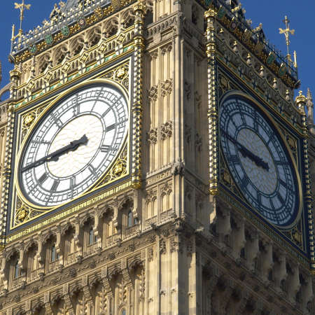 Big Ben, Houses of Parliament, Westminster Palace, London gothic architecture Stock Photo - 7628513