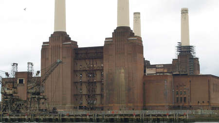 Battersea Power Station in London, England, UK Stock Photo - 7628492
