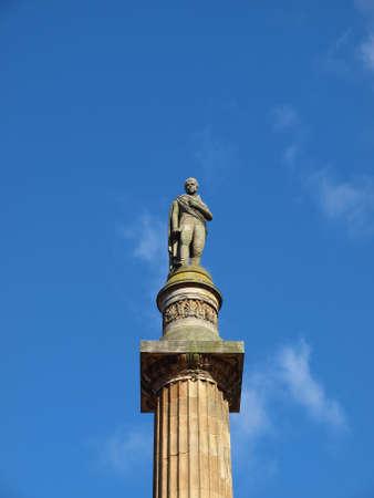 sir walter scott: Sir Walter Scott column in George Square, Glasgow