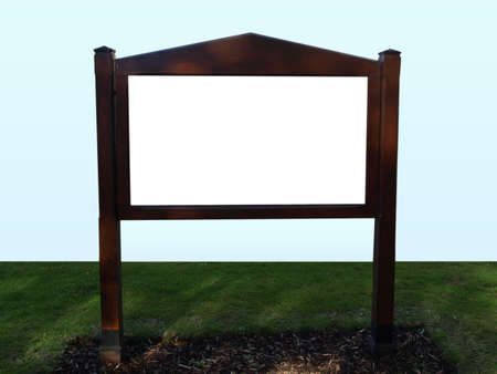 hoarding: A blank billboard hoarding useful as a background