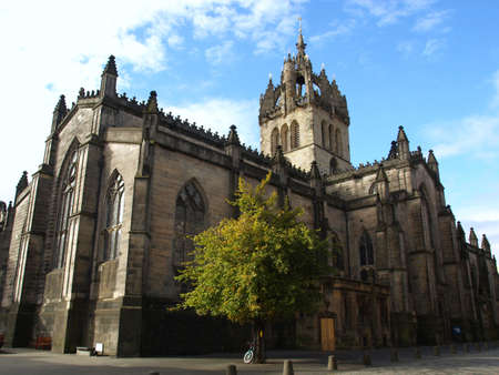 giles: St Giles Cathedral in Edinburgh, Scotland, UK