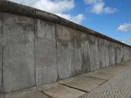 The Berlin Wall (Berliner Mauer) in Germany Standard-Bild