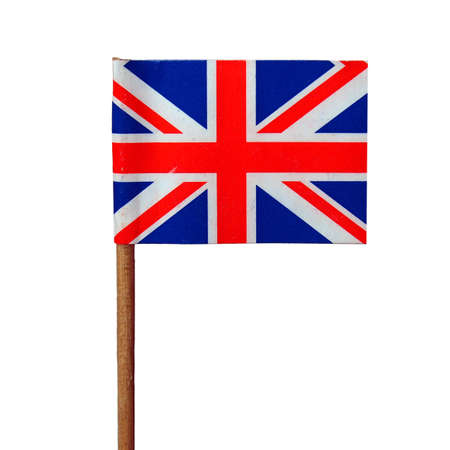 Union Jack national flag of the United Kingdom (UK) - isolated over white background Stock Photo - 8249674