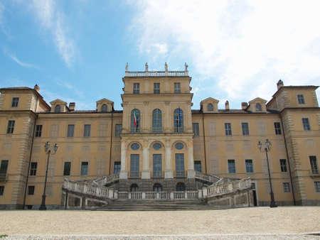 regina: The Villa della Regina in Turin Italy Stock Photo