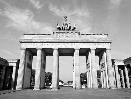 Brandenburger Tor (Brandenburg Gates) in Berlin, Germany photo
