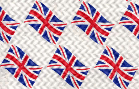 Flag of the UK aka Union Jack useful as background Stock Photo - 9491092