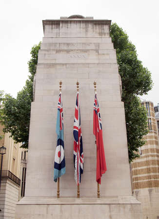 Cenotaph to commemorate the deads of all wars, London, UK photo