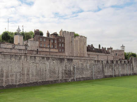 The Tower of London medieval castle and prison Stock Photo - 9900082