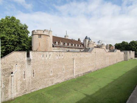 The Tower of London medieval castle and prison photo