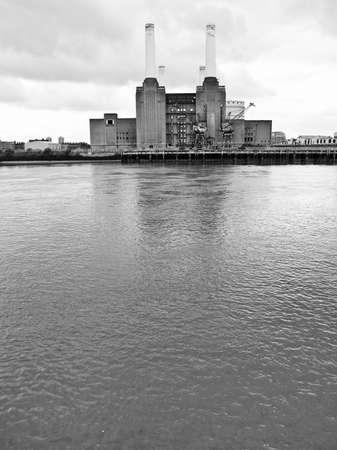Battersea Power Station in London England UK photo