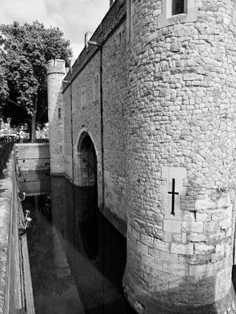 anne: Traitors Gate, St Thomas Tower, Tower of London, England, UK Stock Photo