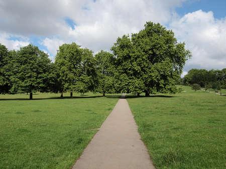regent: Regent Park landscape in London England UK