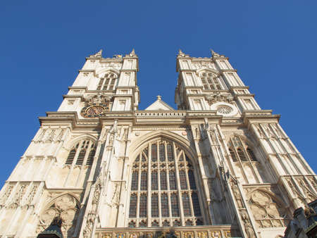 The Westminster Abbey church in London UK photo