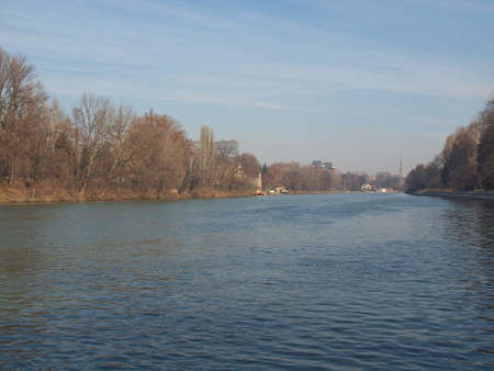 View of river Po, Turin, Italy Stock Photo - 12980512