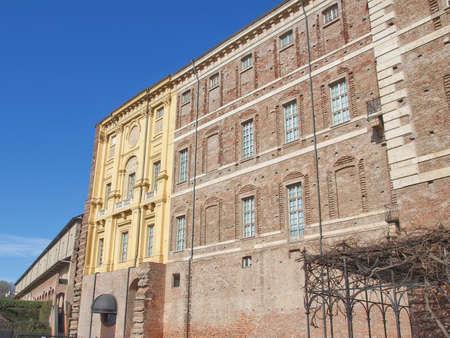 rivoli: Castello di Rivoli castle near Turin, Italy Editorial