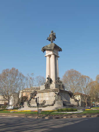 King Vittorio Emanuele II monument in Turin, Italy Stock Photo - 13106500