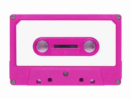 cassette tape: Magnetic tape cassette for audio music recording