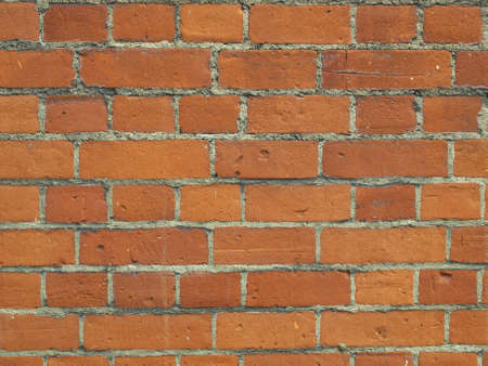 hintergrund: Red brick wall useful as a background
