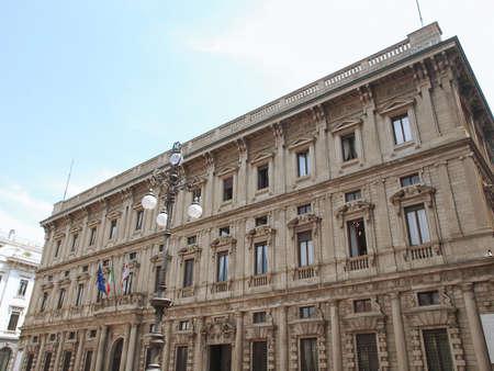 Palazzo Marini city hall, Piazza della Scala, Milan photo