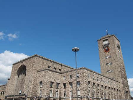 Central railway station (Hauptbahnhof) in Stuttgart, Germany Stock Photo - 14553301