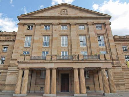 stuttgart: The Staatstheater (National Theatre) in Stuttgart, Germany